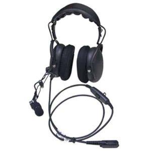 motorola dual muff over the head headphones