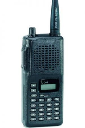 ICOM F4 UHF + 6 Way charger