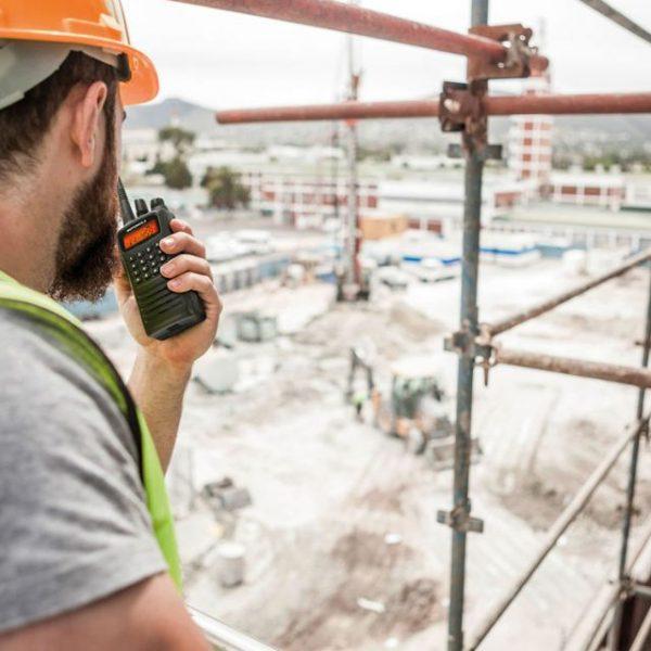 Radio in construction