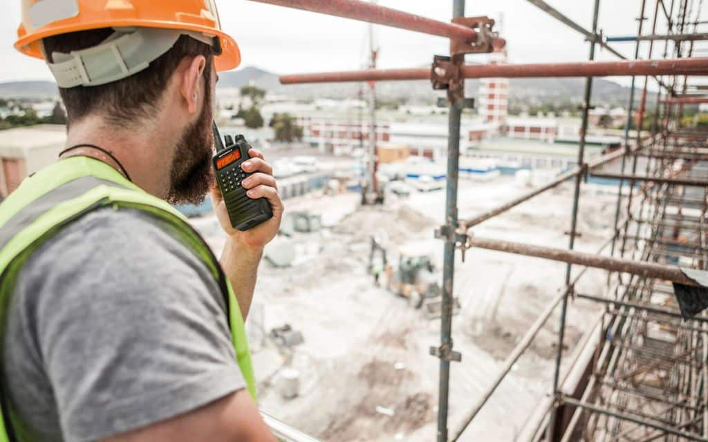 Radios in the Construction Industry
