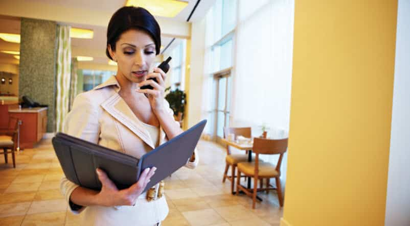 Radios in the Hospitality Industry