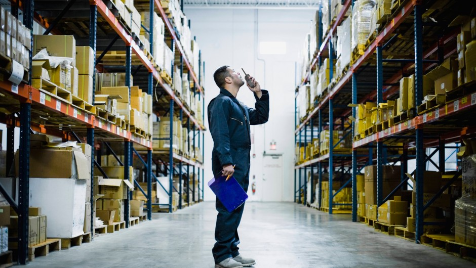 Radio use in the warehousing industry