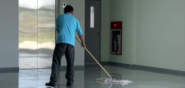facilities management worker