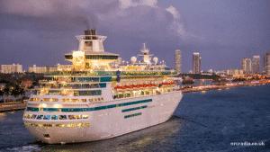 cruise ship walkie talkies