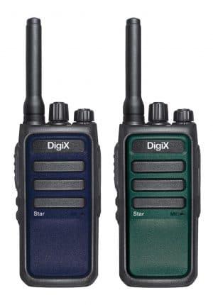 DigiX Star Twin radios